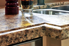 granite counter top edge